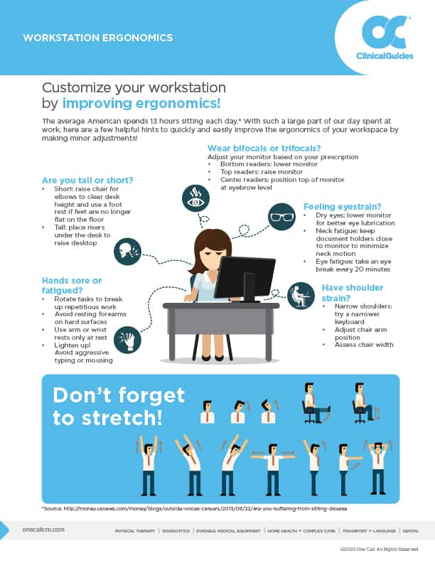 Don't be a Slouch! Ergonomics, Deskercise, and Stress Relief for Remote Workers