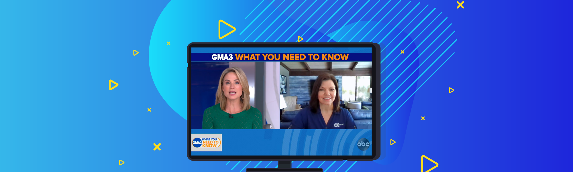 Michelle Despres on Good Morning America – Again!